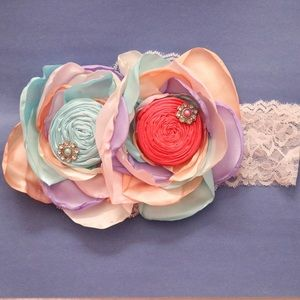 Girls & Baby Couture Floral/ Headbands
